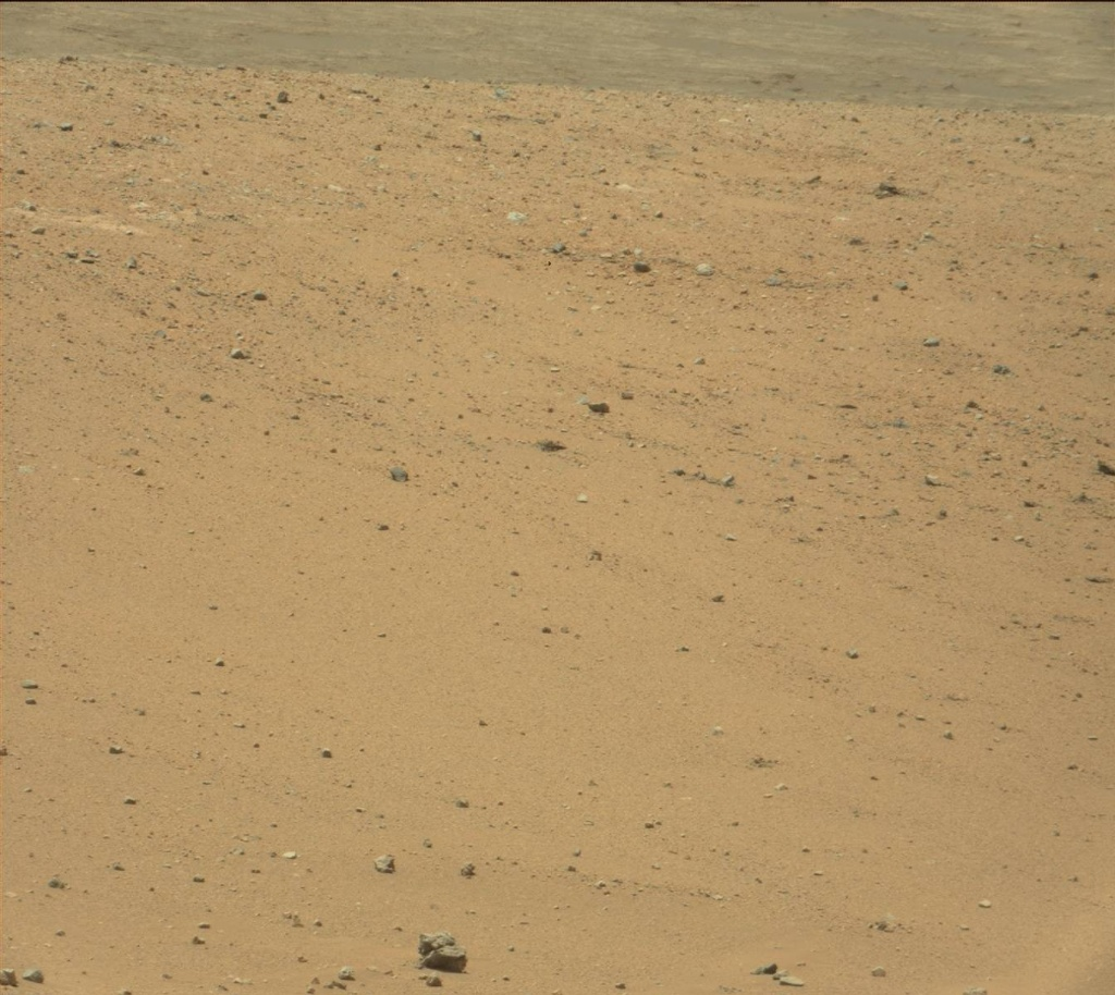 NASA's Mars rover Curiosity acquired this image using its Mast Camera (Mastcam) on Sol 338