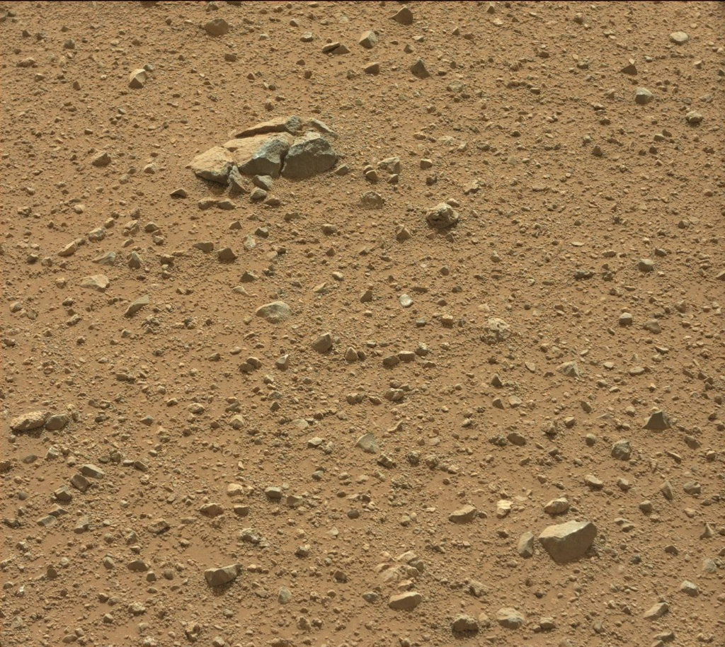NASA's Mars rover Curiosity acquired this image using its Mast Camera (Mastcam) on Sol 344