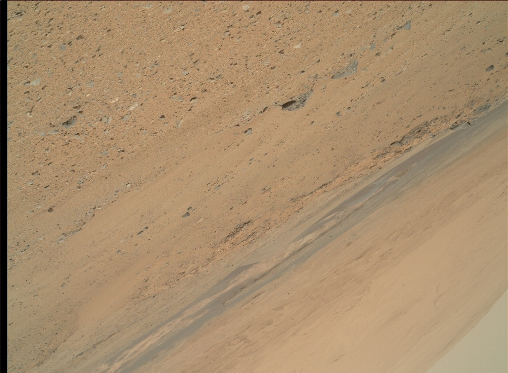 NASA's Mars rover Curiosity acquired this image using its Mars Hand Lens Imager (MAHLI) on Sol 344