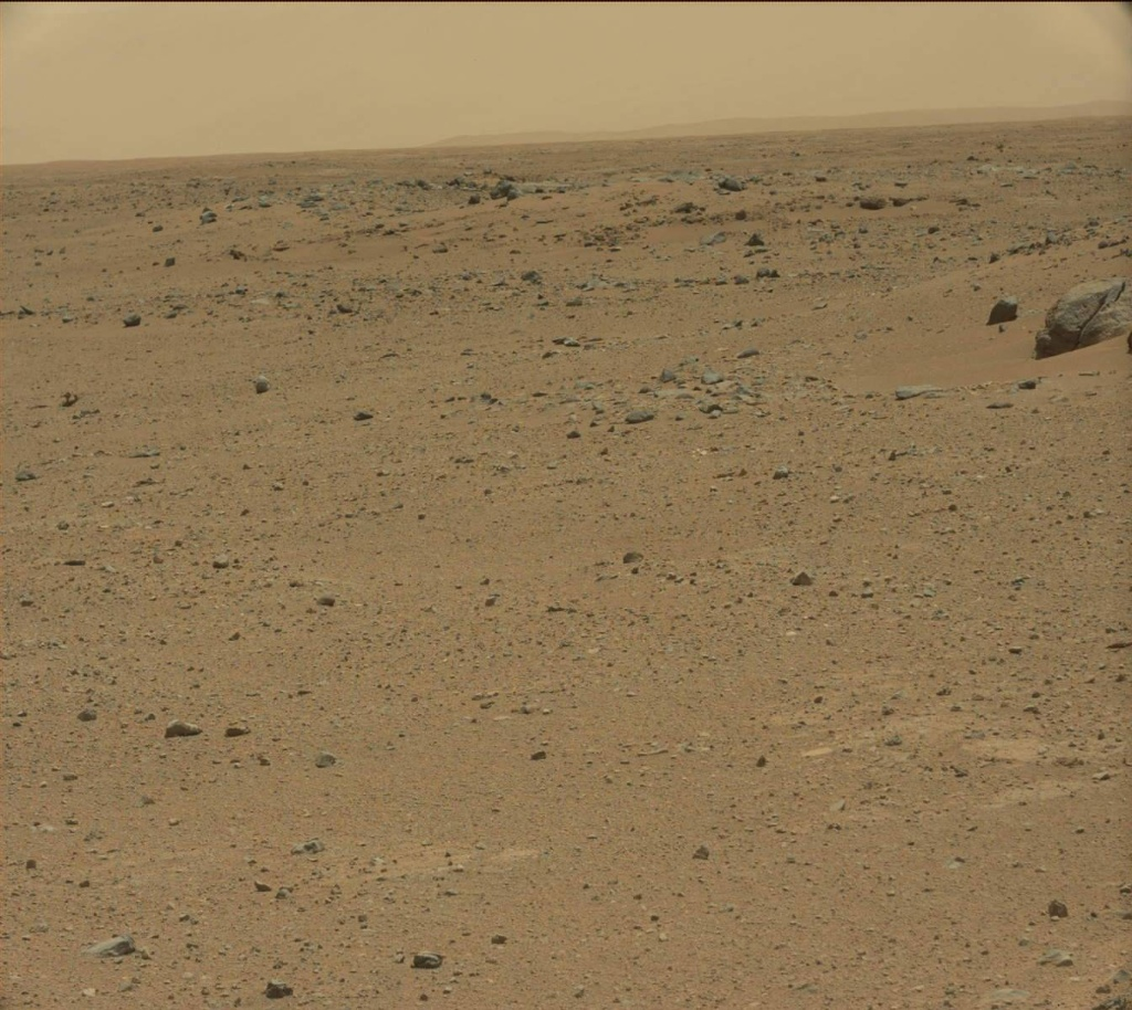 NASA's Mars rover Curiosity acquired this image using its Mast Camera (Mastcam) on Sol 361