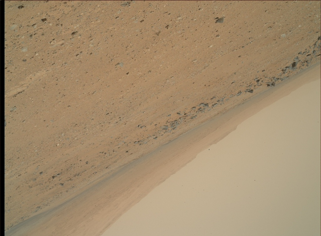NASA's Mars rover Curiosity acquired this image using its Mars Hand Lens Imager (MAHLI) on Sol 361