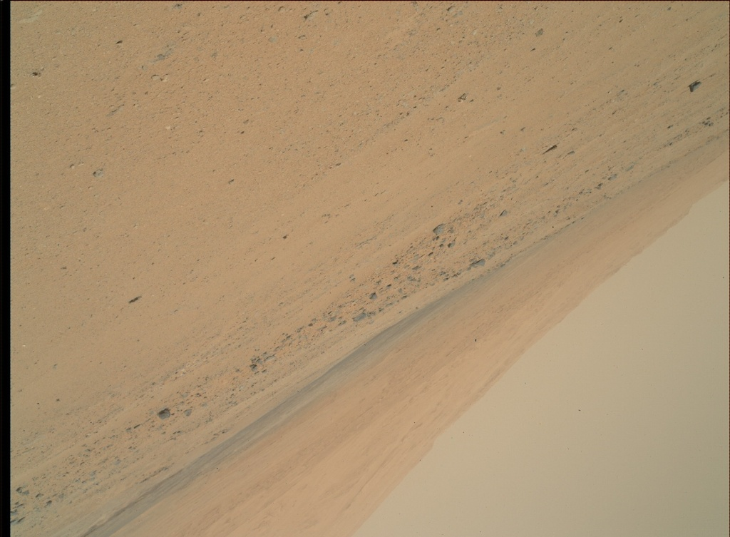 NASA's Mars rover Curiosity acquired this image using its Mars Hand Lens Imager (MAHLI) on Sol 369