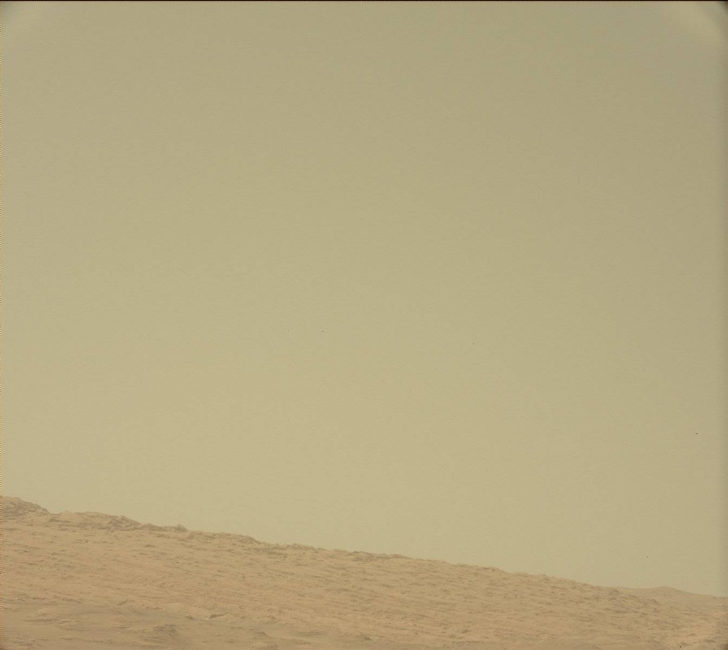 NASA's Mars rover Curiosity acquired this image using its Mast Camera (Mastcam) on Sol 375