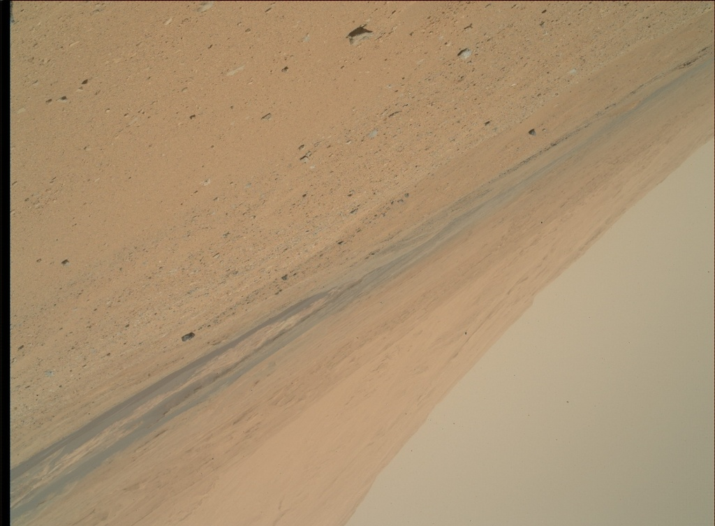 NASA's Mars rover Curiosity acquired this image using its Mars Hand Lens Imager (MAHLI) on Sol 378