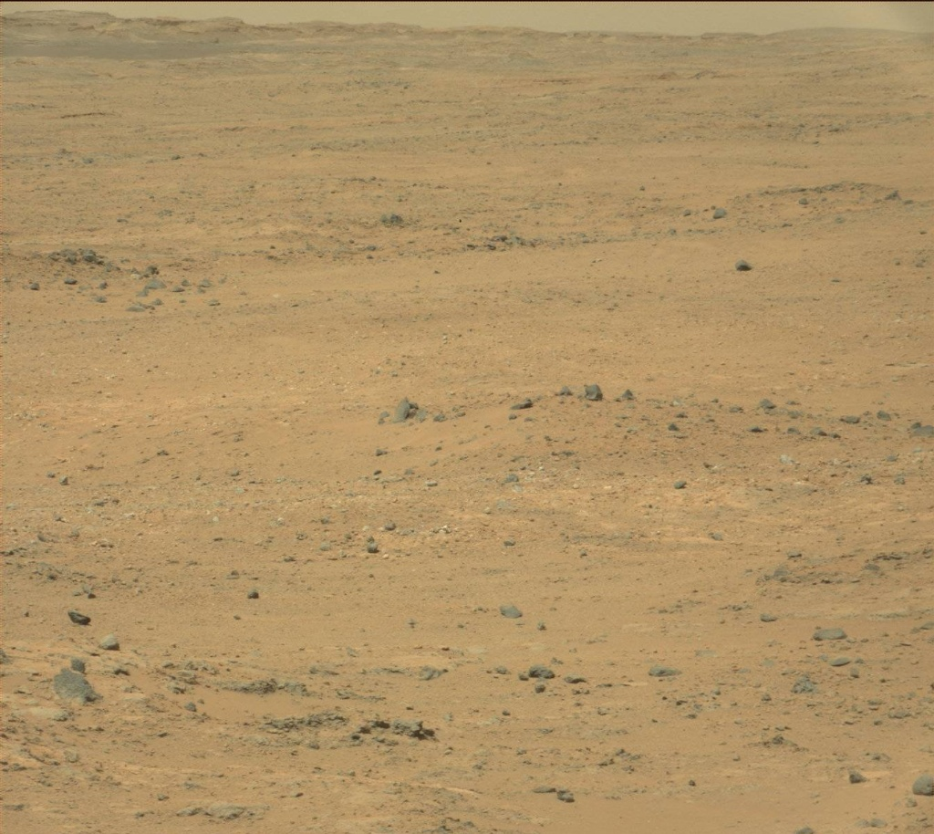 NASA's Mars rover Curiosity acquired this image using its Mast Camera (Mastcam) on Sol 387