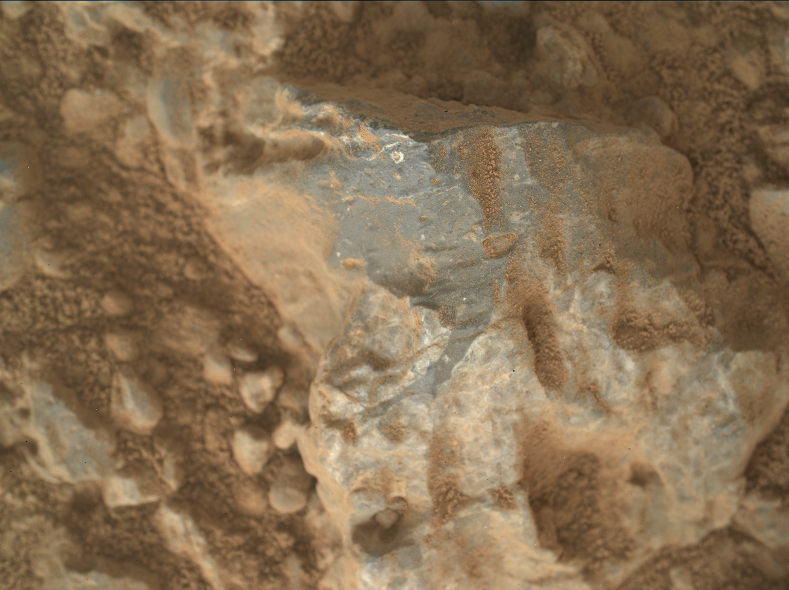 Nasa's Mars rover Curiosity acquired this image using its Mars Hand Lens Imager (MAHLI) on Sol 387