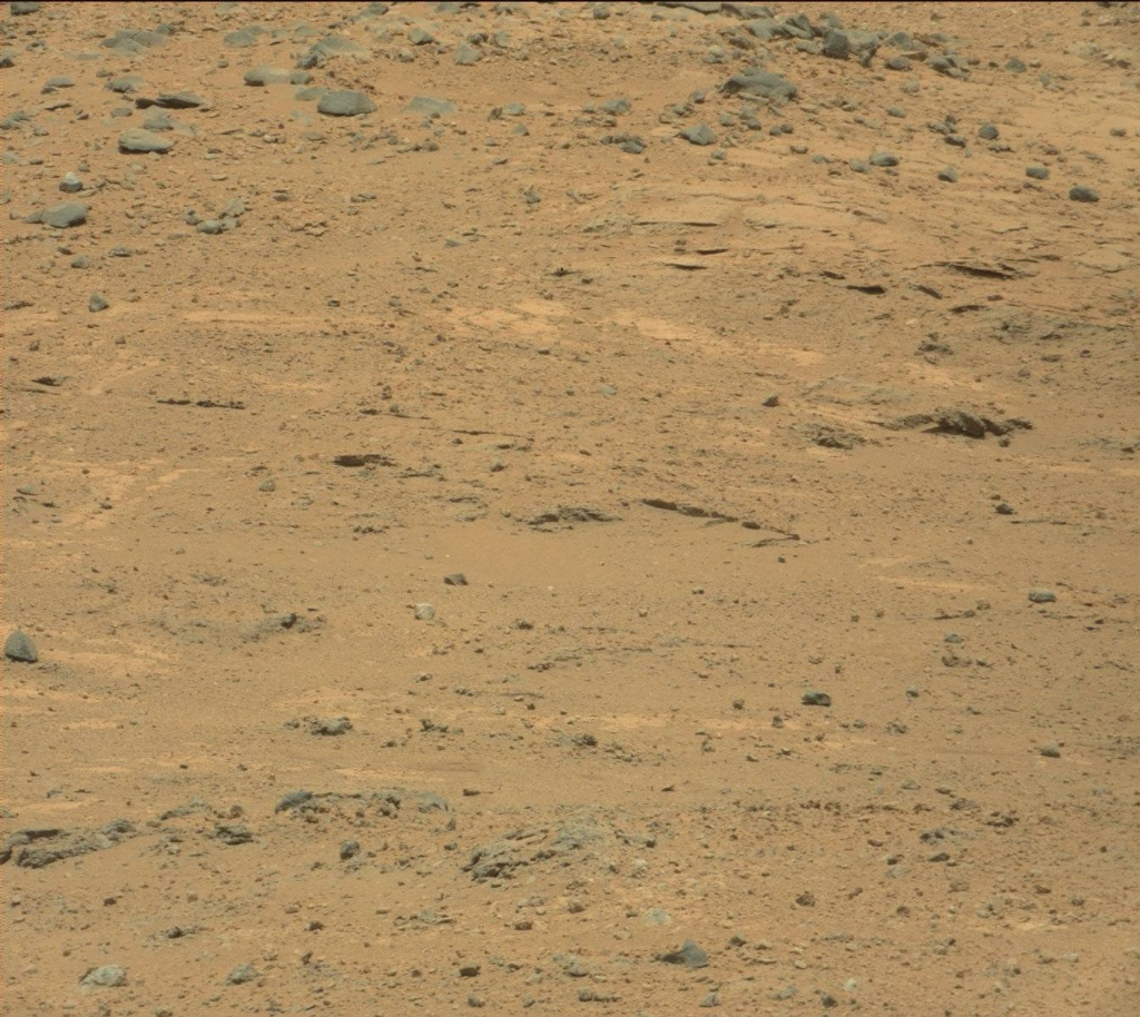 NASA's Mars rover Curiosity acquired this image using its Mast Camera (Mastcam) on Sol 388