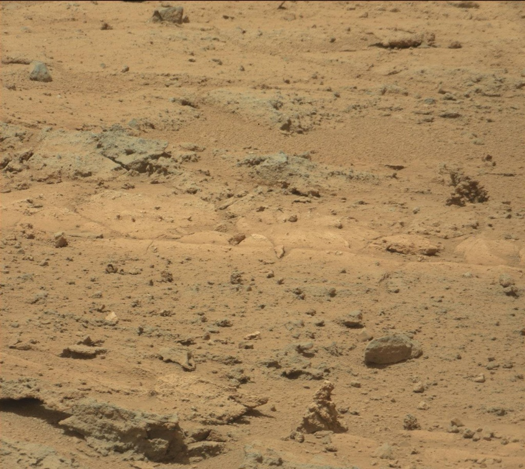 NASA's Mars rover Curiosity acquired this image using its Mast Camera (Mastcam) on Sol 393