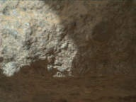 NASA's Mars rover Curiosity acquired this image using its Mars Hand Lens Imager (MAHLI) on Sol 394