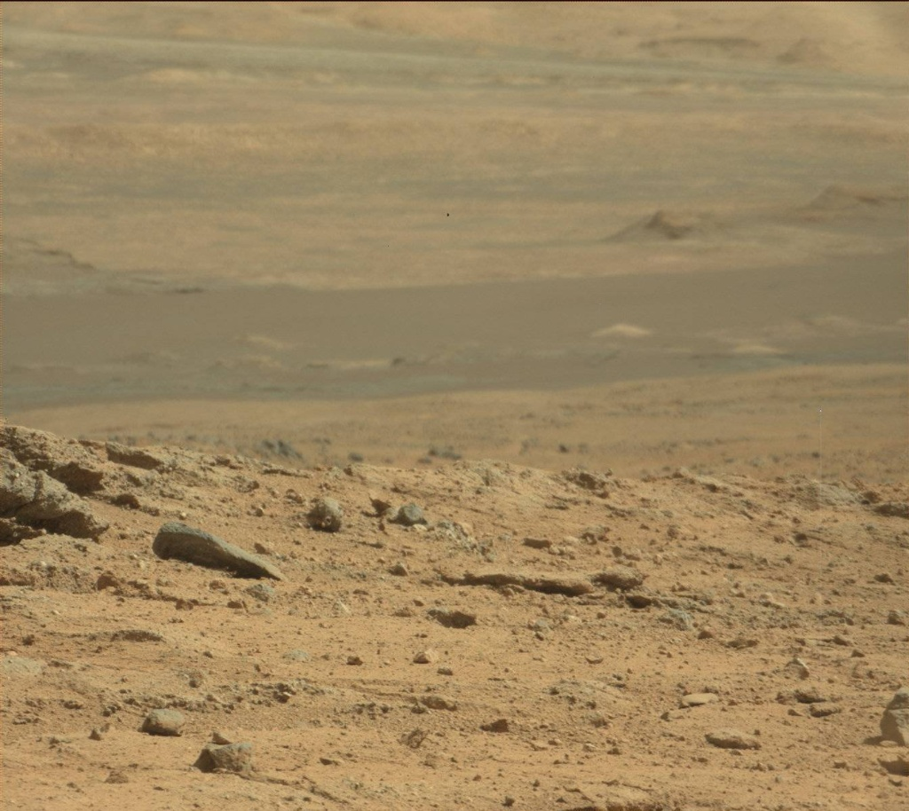 NASA's Mars rover Curiosity acquired this image using its Mast Camera (Mastcam) on Sol 395