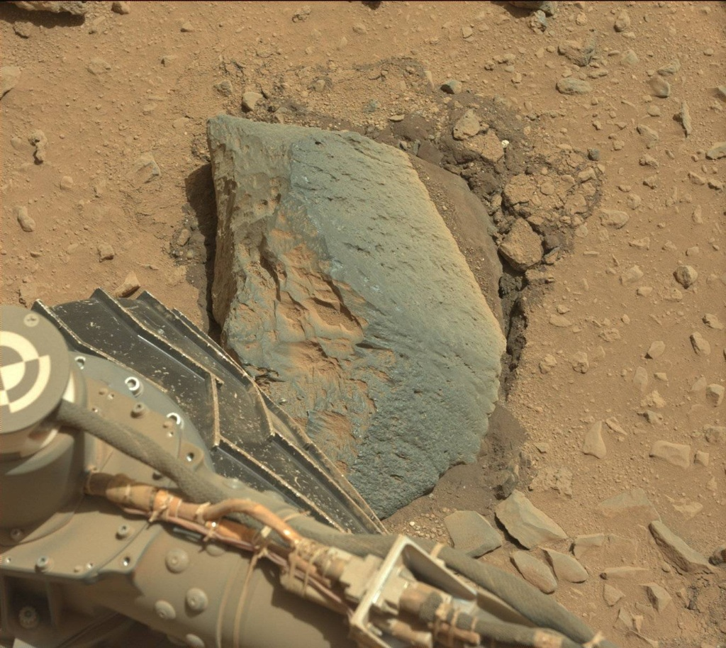 NASA's Mars rover Curiosity acquired this image using its Mast Camera (Mastcam) on Sol 403