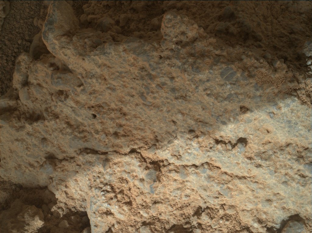 NASA's Mars rover Curiosity acquired this image using its Mars Hand Lens Imager (MAHLI) on Sol 403