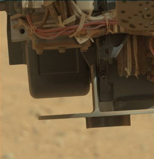 NASA's Mars rover Curiosity acquired this image using its Mast Camera (Mastcam) on Sol 411
