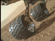 NASA's Mars rover Curiosity acquired this image using its Mars Hand Lens Imager (MAHLI) on Sol 411