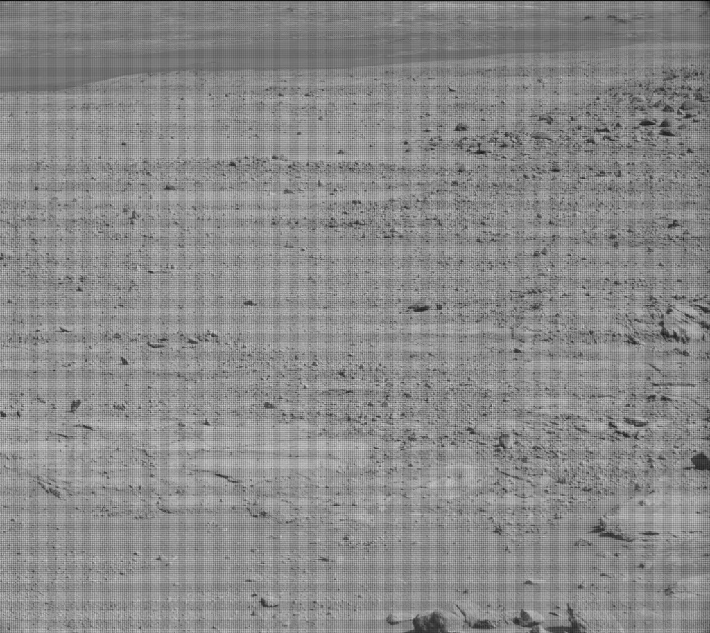 NASA's Mars rover Curiosity acquired this image using its Mast Camera (Mastcam) on Sol 412