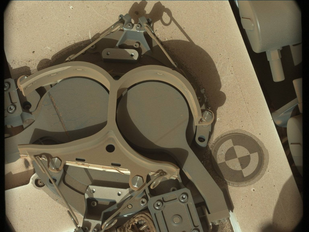 NASA's Mars rover Curiosity acquired this image using its Mast Camera (Mastcam) on Sol 415