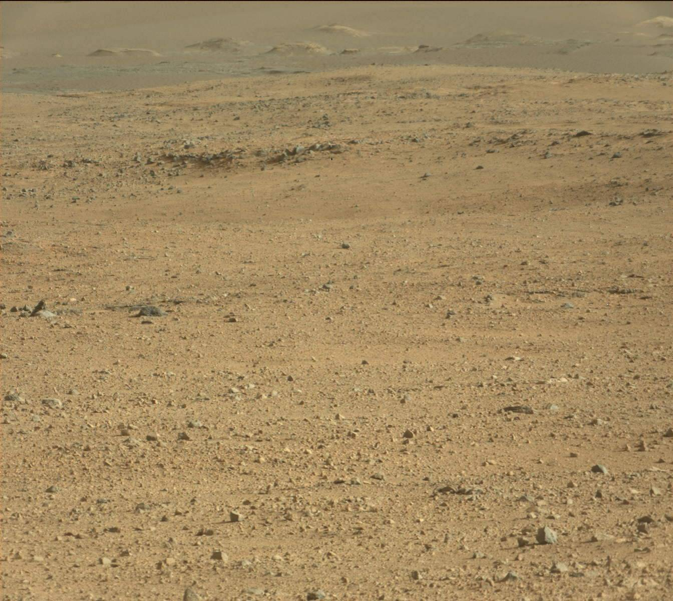 Nasa's Mars rover Curiosity acquired this image using its Mast Camera (Mastcam) on Sol 417