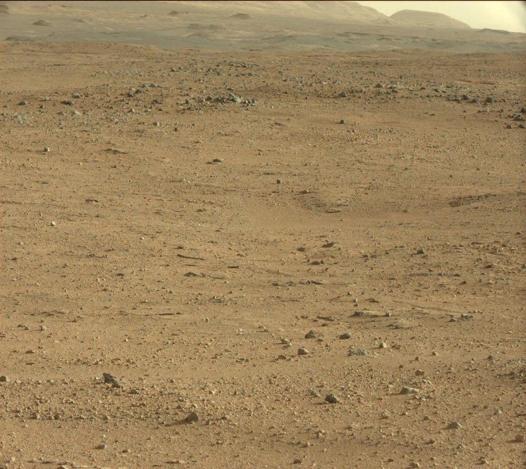NASA's Mars rover Curiosity acquired this image using its Mast Camera (Mastcam) on Sol 419