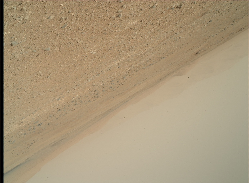 NASA's Mars rover Curiosity acquired this image using its Mars Hand Lens Imager (MAHLI) on Sol 422