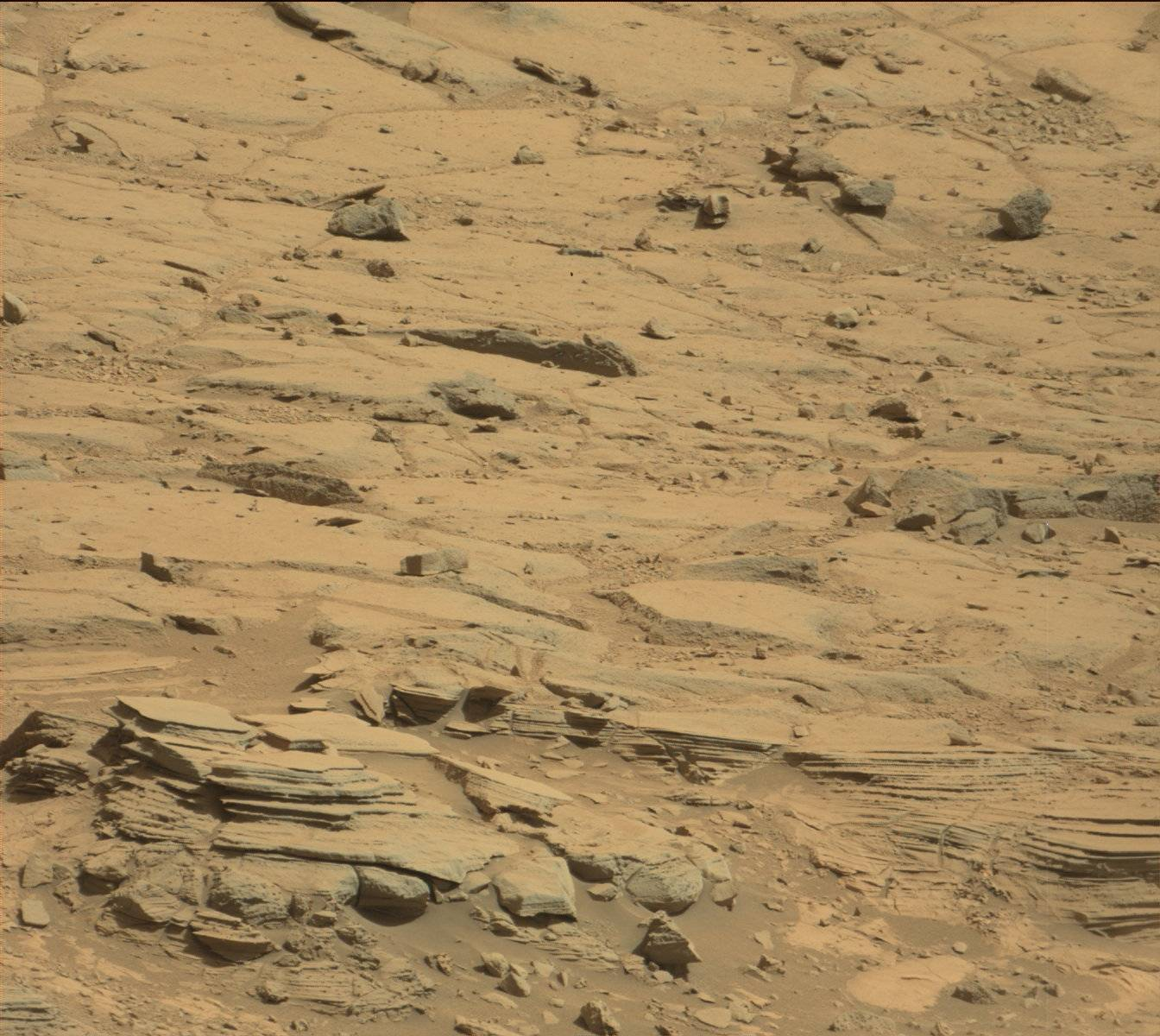 Nasa's Mars rover Curiosity acquired this image using its Mast Camera (Mastcam) on Sol 439
