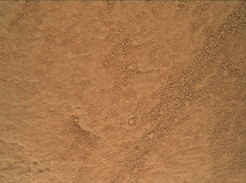 NASA's Mars rover Curiosity acquired this image using its Mars Hand Lens Imager (MAHLI) on Sol 442