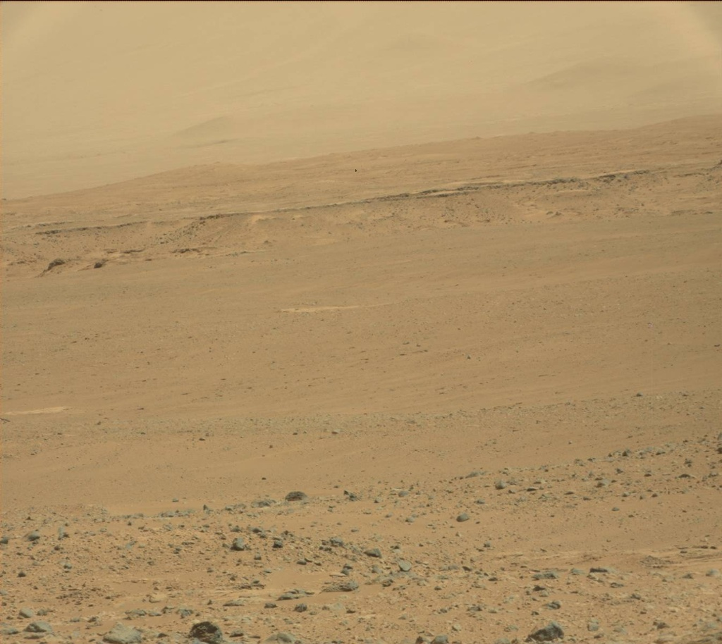 NASA's Mars rover Curiosity acquired this image using its Mast Camera (Mastcam) on Sol 455