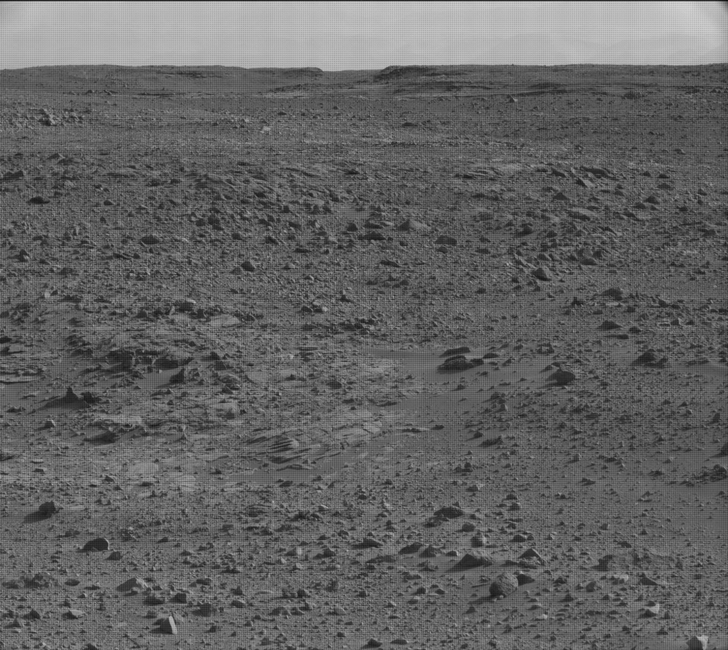 NASA's Mars rover Curiosity acquired this image using its Mast Camera (Mastcam) on Sol 456