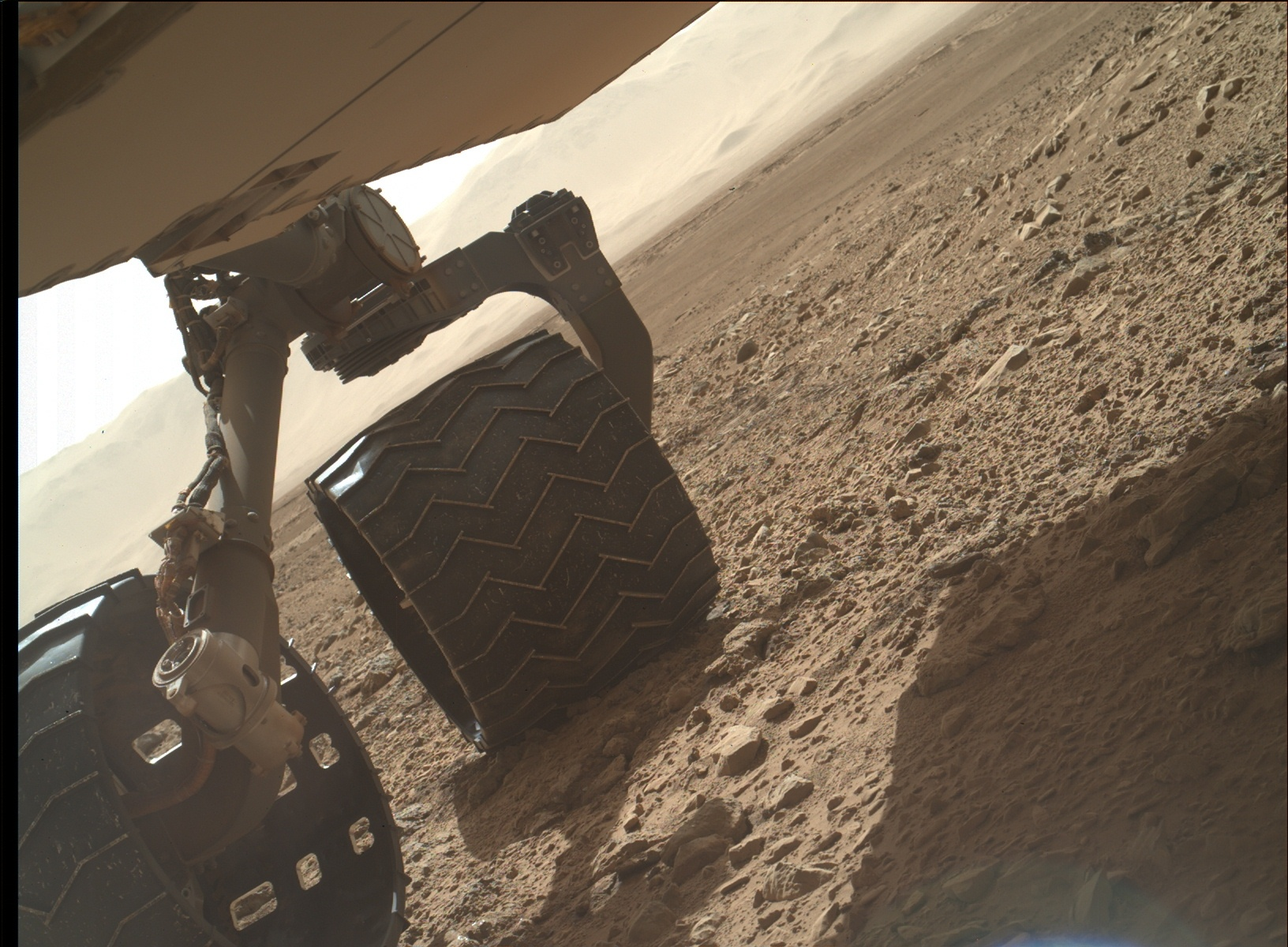 Nasa's Mars rover Curiosity acquired this image using its Mars Hand Lens Imager (MAHLI) on Sol 463