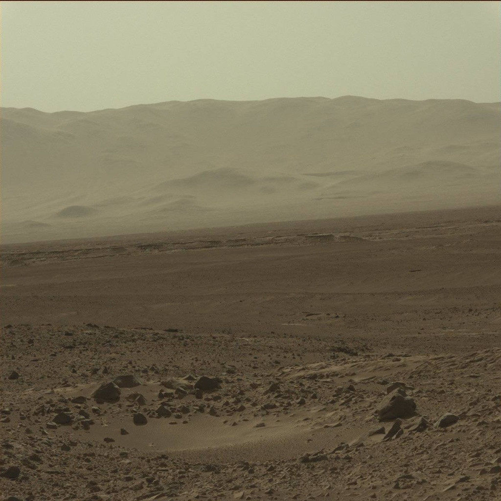 NASA's Mars rover Curiosity acquired this image using its Mast Camera (Mastcam) on Sol 468
