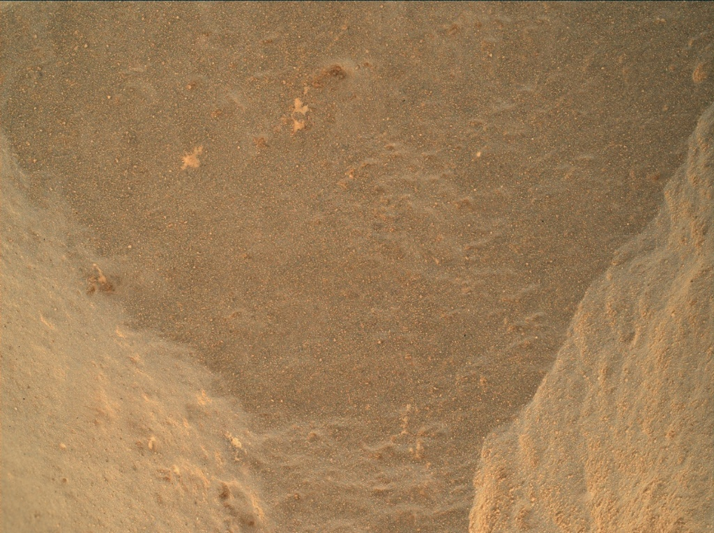 NASA's Mars rover Curiosity acquired this image using its Mars Hand Lens Imager (MAHLI) on Sol 472