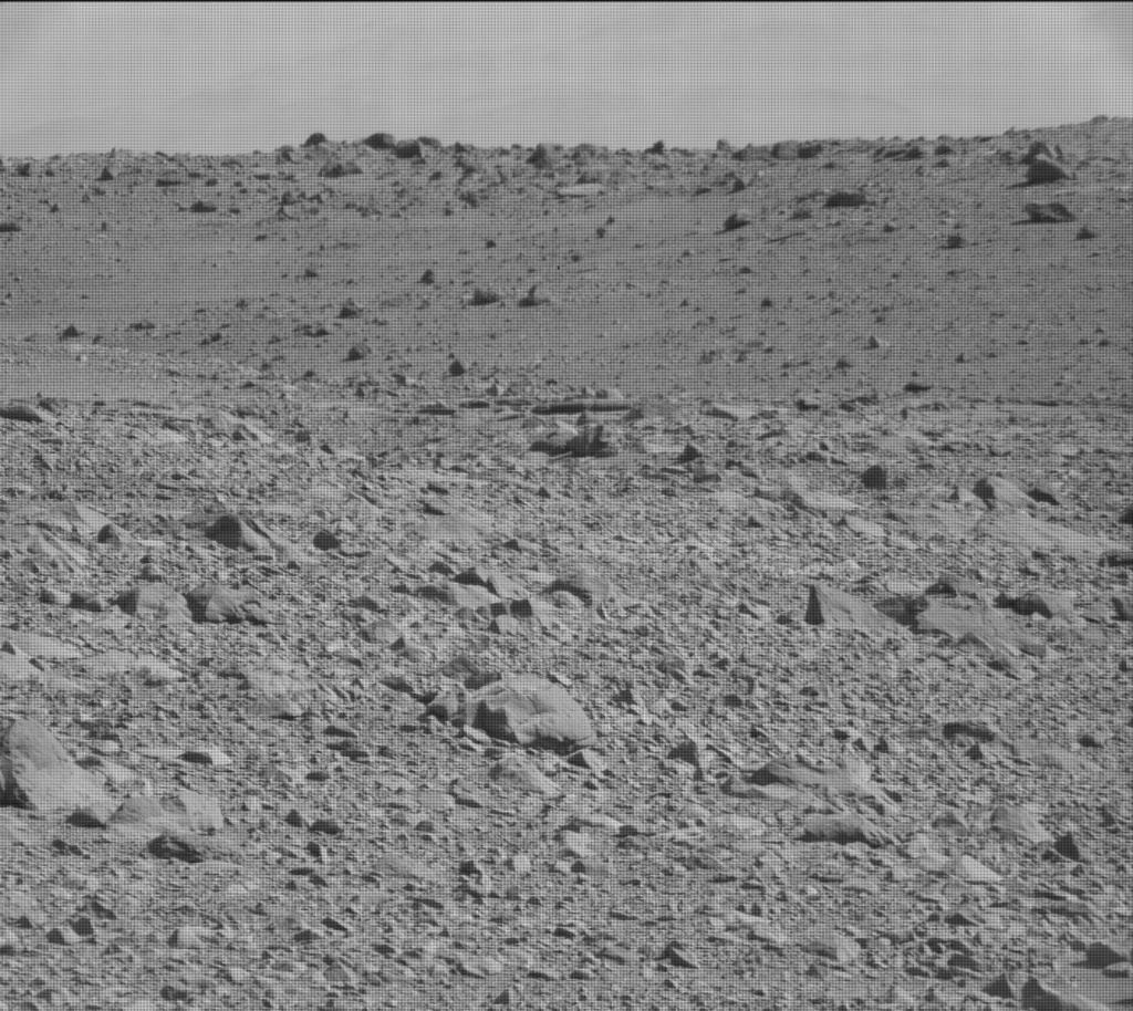 NASA's Mars rover Curiosity acquired this image using its Mast Camera (Mastcam) on Sol 488
