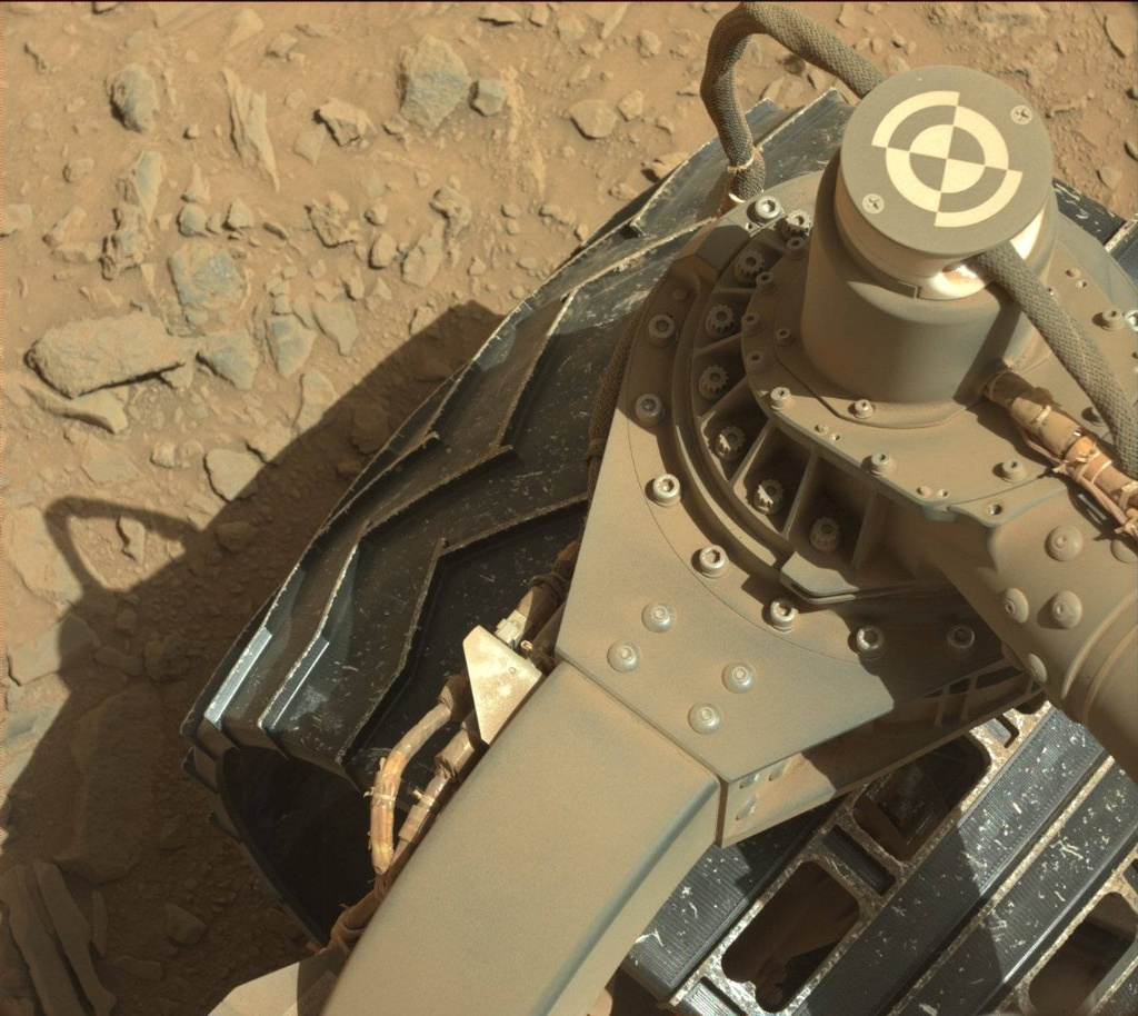 NASA's Mars rover Curiosity acquired this image using its Mast Camera (Mastcam) on Sol 490