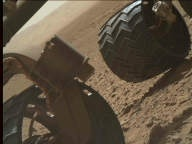 NASA's Mars rover Curiosity acquired this image using its Mars Hand Lens Imager (MAHLI) on Sol 490