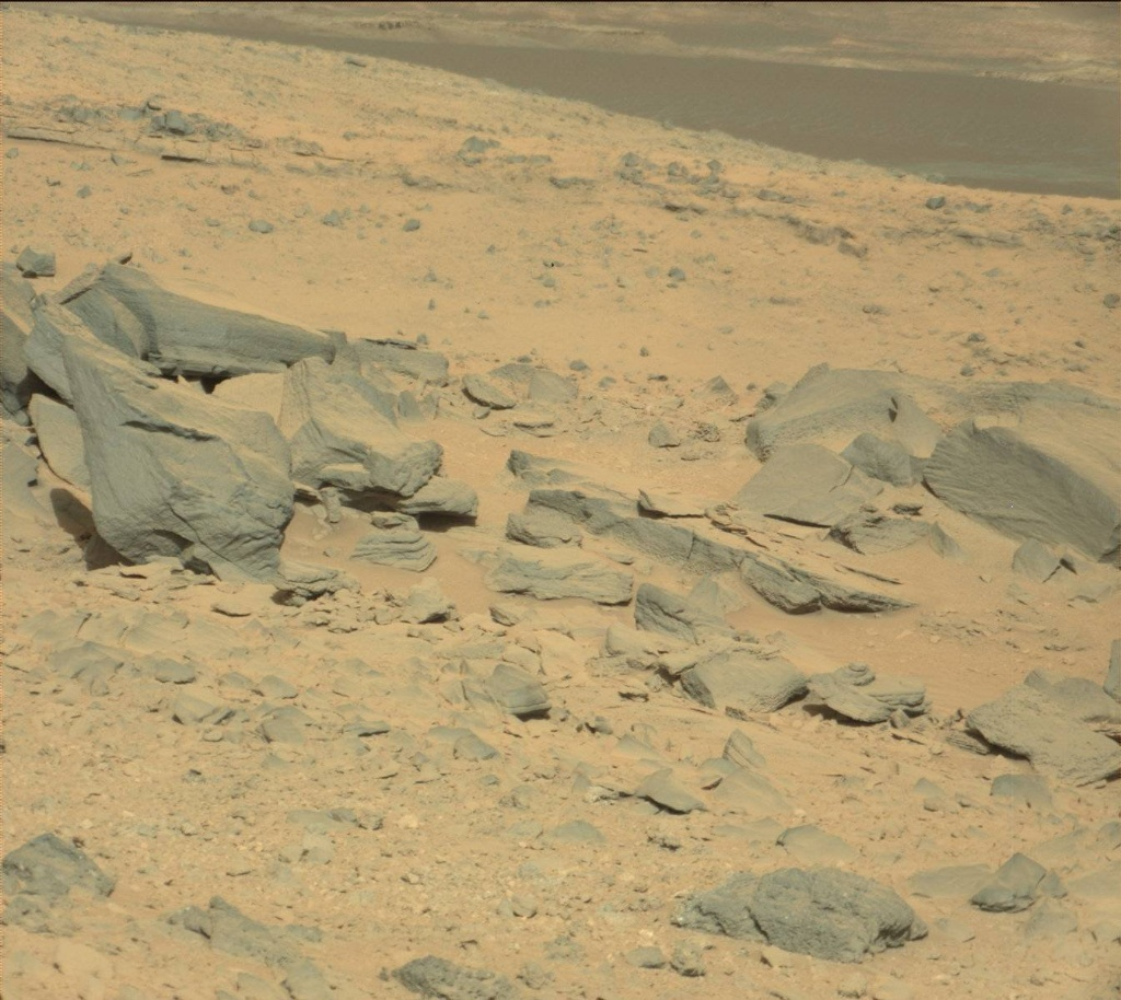NASA's Mars rover Curiosity acquired this image using its Mast Camera (Mastcam) on Sol 502