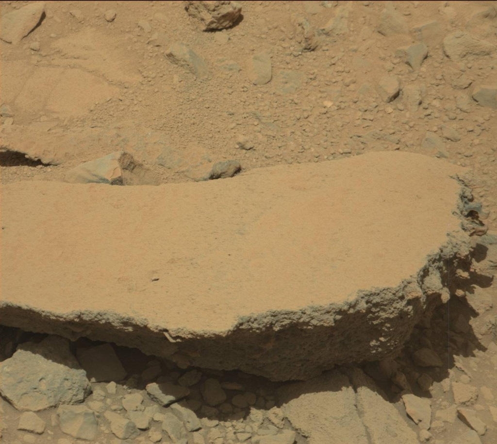 NASA's Mars rover Curiosity acquired this image using its Mast Camera (Mastcam) on Sol 503