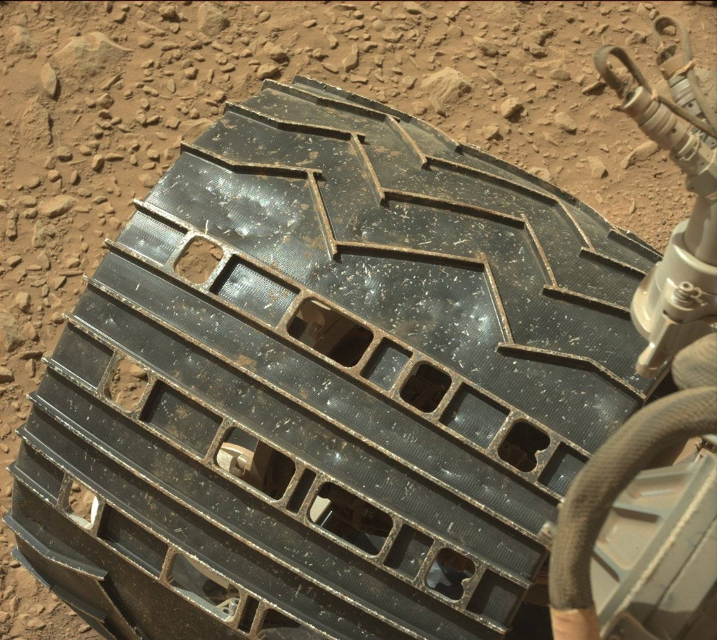 NASA's Mars rover Curiosity acquired this image using its Mast Camera (Mastcam) on Sol 504