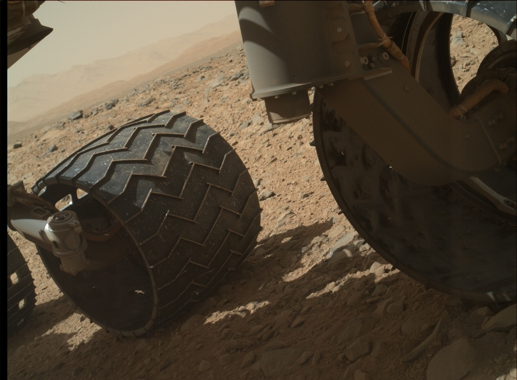 NASA's Mars rover Curiosity acquired this image using its Mars Hand Lens Imager (MAHLI) on Sol 504