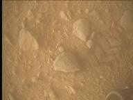 NASA's Mars rover Curiosity acquired this image using its Mars Descent Imager (MARDI) on Sol 504