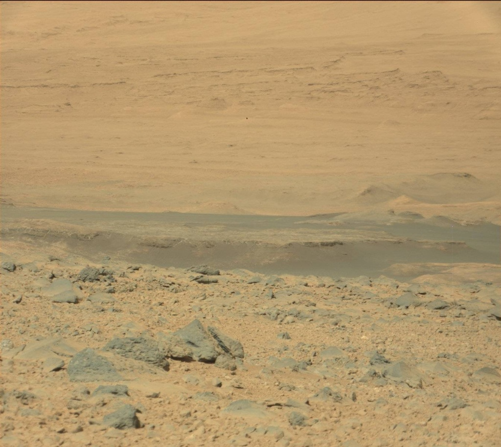 NASA's Mars rover Curiosity acquired this image using its Mast Camera (Mastcam) on Sol 505