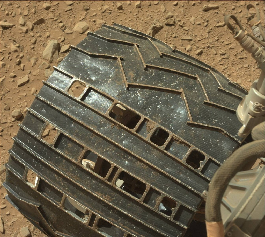 NASA's Mars rover Curiosity acquired this image using its Mast Camera (Mastcam) on Sol 506