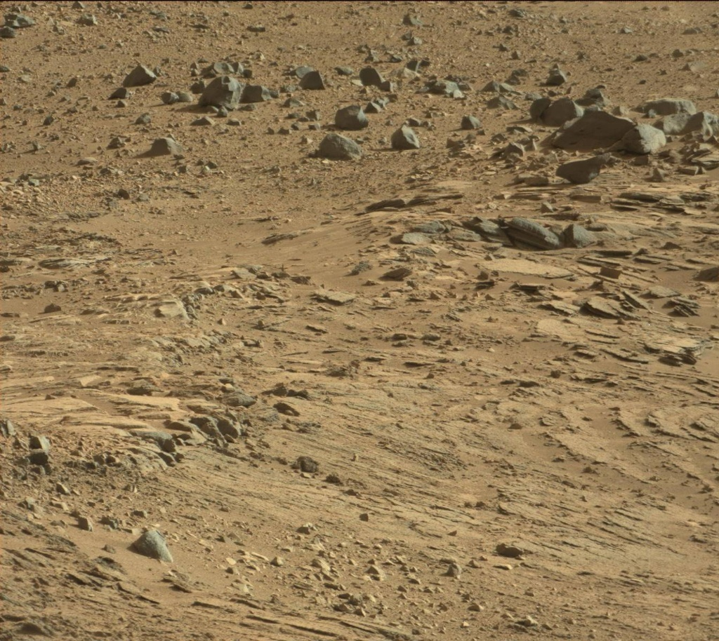 NASA's Mars rover Curiosity acquired this image using its Mast Camera (Mastcam) on Sol 508