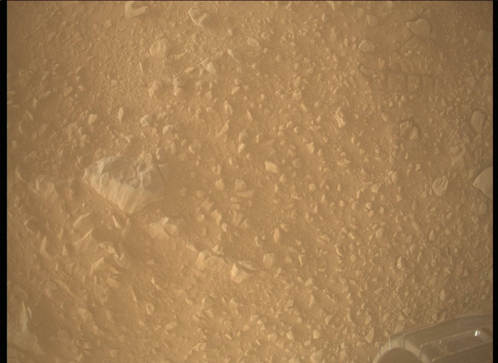 NASA's Mars rover Curiosity acquired this image using its Mars Descent Imager (MARDI) on Sol 508