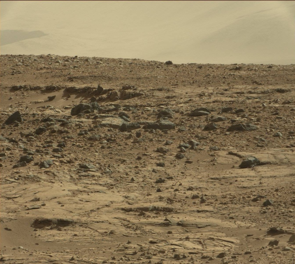 NASA's Mars rover Curiosity acquired this image using its Mast Camera (Mastcam) on Sol 509