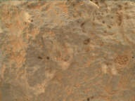 NASA's Mars rover Curiosity acquired this image using its Mars Hand Lens Imager (MAHLI) on Sol 510