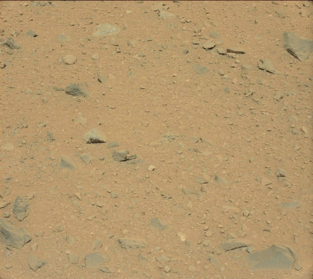 NASA's Mars rover Curiosity acquired this image using its Mast Camera (Mastcam) on Sol 511