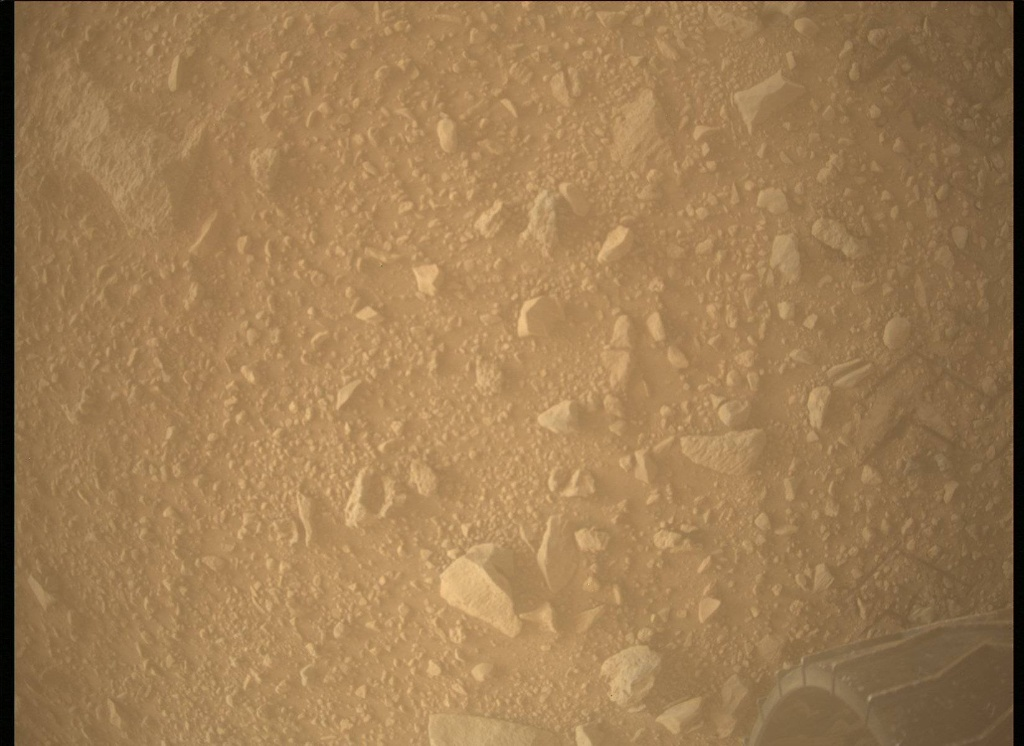 NASA's Mars rover Curiosity acquired this image using its Mars Descent Imager (MARDI) on Sol 511