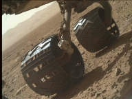 NASA's Mars rover Curiosity acquired this image using its Mars Hand Lens Imager (MAHLI) on Sol 512