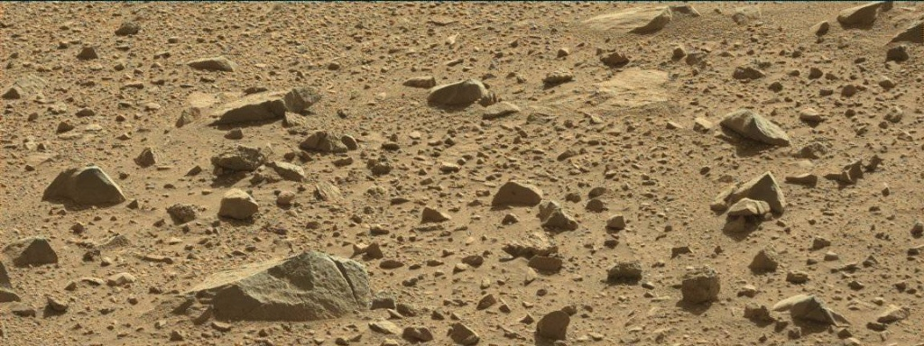 NASA's Mars rover Curiosity acquired this image using its Mast Camera (Mastcam) on Sol 513