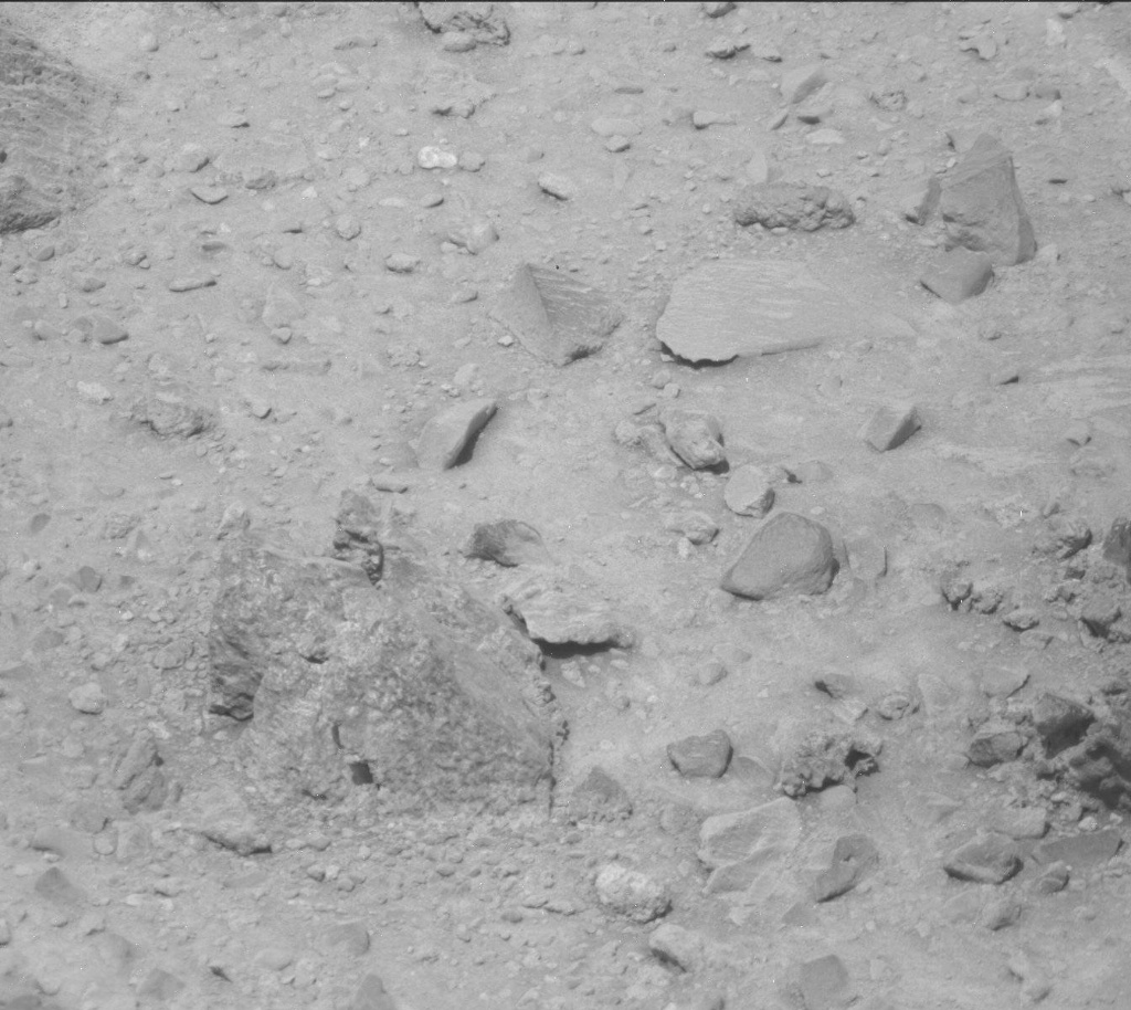 NASA's Mars rover Curiosity acquired this image using its Mast Camera (Mastcam) on Sol 514