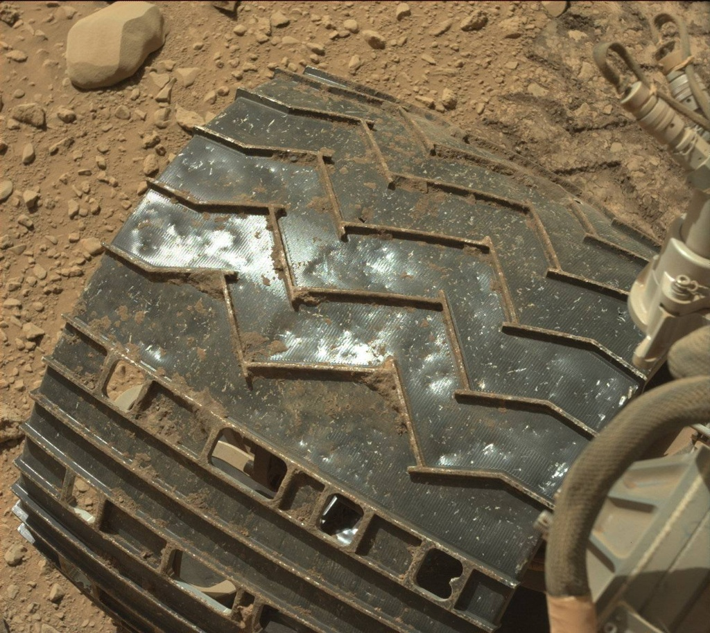 NASA's Mars rover Curiosity acquired this image using its Mast Camera (Mastcam) on Sol 515